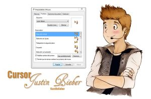 Cursor Justin Bieber by JerryPorti