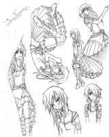 Prologue Sketches -Plz Comment by 1and-Only-Princess