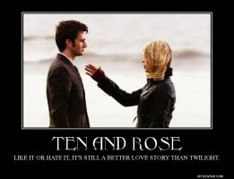 Ten and Rose Demotivational by Erix19