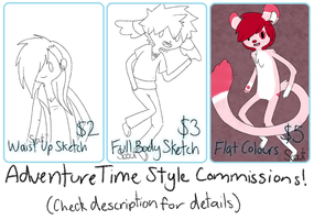 Adventure Time Commissions by TotallyNA