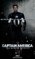 ''Captain America: The Winter Soldier'' poster by P-DB