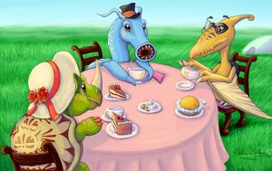 Feross' Teaparty by Cyaneus