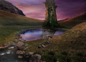 Premade Background 1 by Emerald-Depths-Stock
