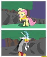 Daring Fluttershy by CoNiKiBlaSu-fan