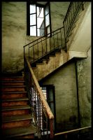 The Sad Poem of a Dead Stair by x-horizon
