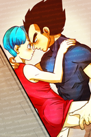 An Intimate Moment1 by longlovevegeta