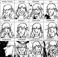 Young Hector Barbossa-Expression Meme by KomyFly