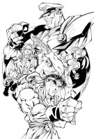 Street Fighter by jorgebreak
