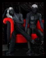 The Red Couch: Bron And Aonair by Mavrosh