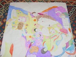 Klimt Painel by sompy