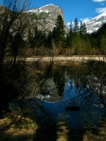 Mirror Lake in the Early Spring by Pahokee-nita