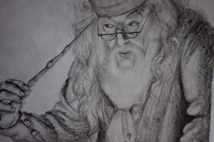 dumbledore's memories by isabelicious