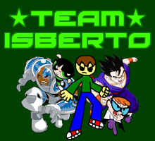 Team Isberto with The Official Title Logo by ian2x4