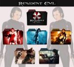 Resident Evil Collection 2002 - 2012 Folder Icon by sonerbyzt