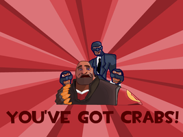 You've Got Crabs Wallpaper by JTtheLlama