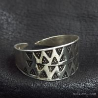 Silver Prussian ring by Sulislaw