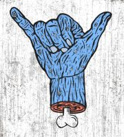 PosterVine Zombie Hand Poster by PosterVine