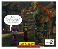 Guild Wars 2 RnR Roc and Roxy Cartoons pic 21 by rocdisjoint