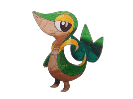 Pokemon Snivy by match16