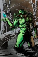 OMEGA SKETCH: Swamp Thing by gavinsmith