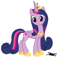 Princess Cadence Version Twilight Sparkle by AndreaSemiramis