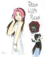 DOWN WITH ROSE by DarkAngelOfMuzic