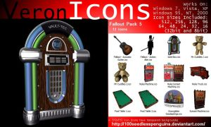VIcons - Fallout Pack 5 by 100SeedlessPenguins