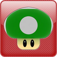 1up iPhone Style Icon by derso69