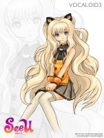 Vocaloid SeeU by celestialdreams31