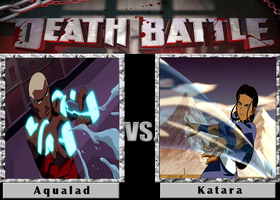 Death Battle: Aqualad Vs Katara by SpikeJet2736