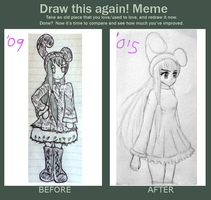 Draw Again Meme! by Momilkie