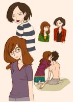 Daria Sketches 1 by Roppie