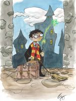 Harry Potter sketch by TreeBeerdy