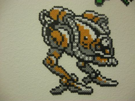 Perler Final Fantasy 1 WarMech Boss by rushtalion