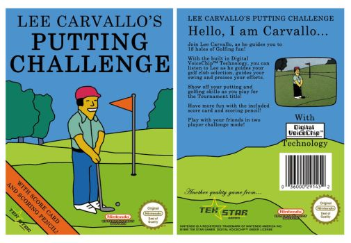 Lee Carvallo's Putt Challenge by LordDavid04
