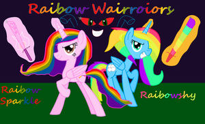 Rainbow wairroiors by coolmlpfangirl450