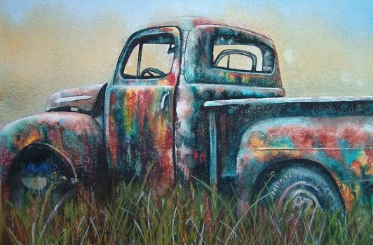 Mary's Truck by k8lag