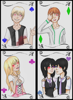 Alice Of Human Sacrifice Cards by yukicaster