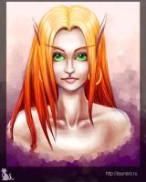 Blood Elf by Asunaro