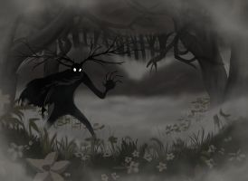 Over the Garden Wall, The Beast by MarieDRose