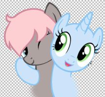 [WIP COMMISSION] Cecille and Colour Spark by partylikeapegasister