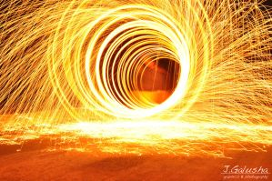 Fire Funnel by JustinGalusha