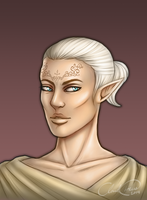 Inquisitor Lavellan by CloudCircus