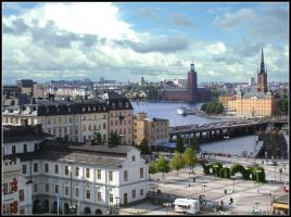 The Colours of Stockholm by thereduk