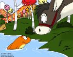 Mule and Fish by Slasher12