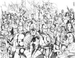 MARVEL by MarcFerreira