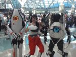 Portal 2 Cosplayers by stormx6