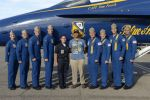 Me with the Blue Angels by BlueWolfRanger95