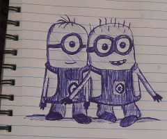 Minions by ForestBlossom