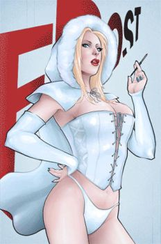 Week 150 Emma Frost Fables Homage gif animation by StevenHoward